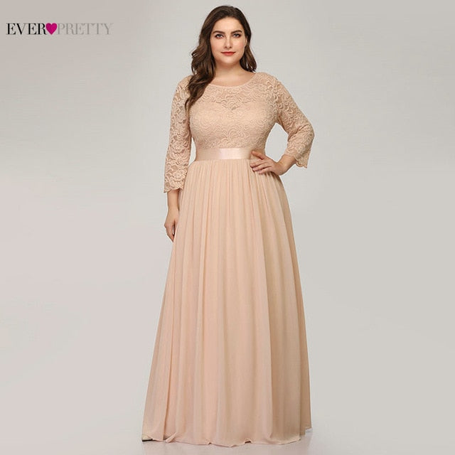 Elegant A Line Wedding Party Dress