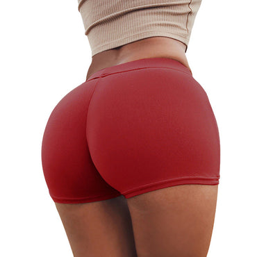 Push Up Running Gym Sexy Heart Pattern Yoga Shorts