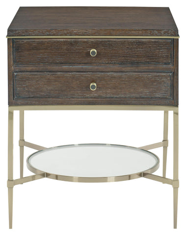 Bernhardt Clarendon Two Drawers Nightstand