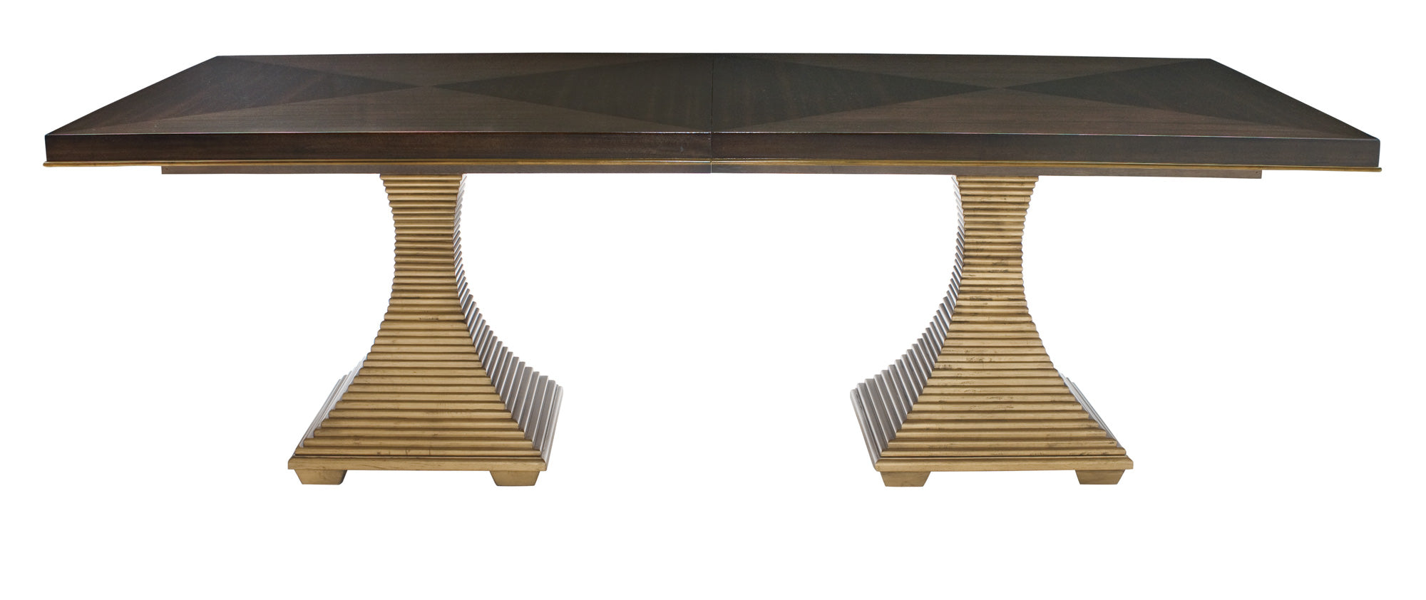 Drew Double Pedestal Dining Table