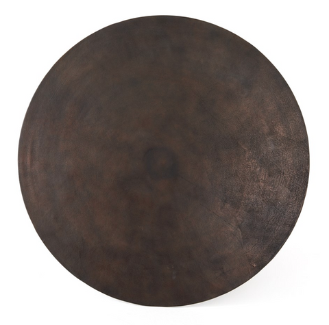 Four Hands Simone Bistro Table, Antique Rust