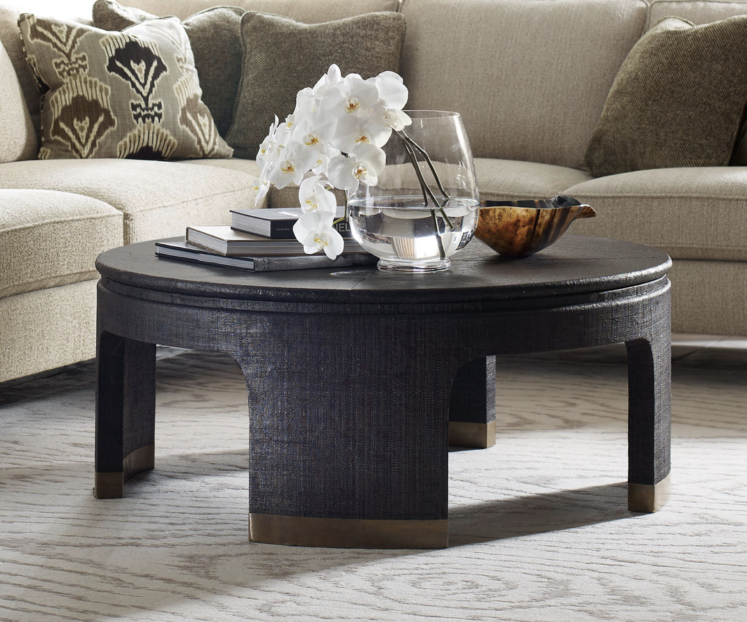 Bernhardt Dubois Round Cocktail Table Coffee Tables Bed Down Furniture Gallery Atlanta Ga