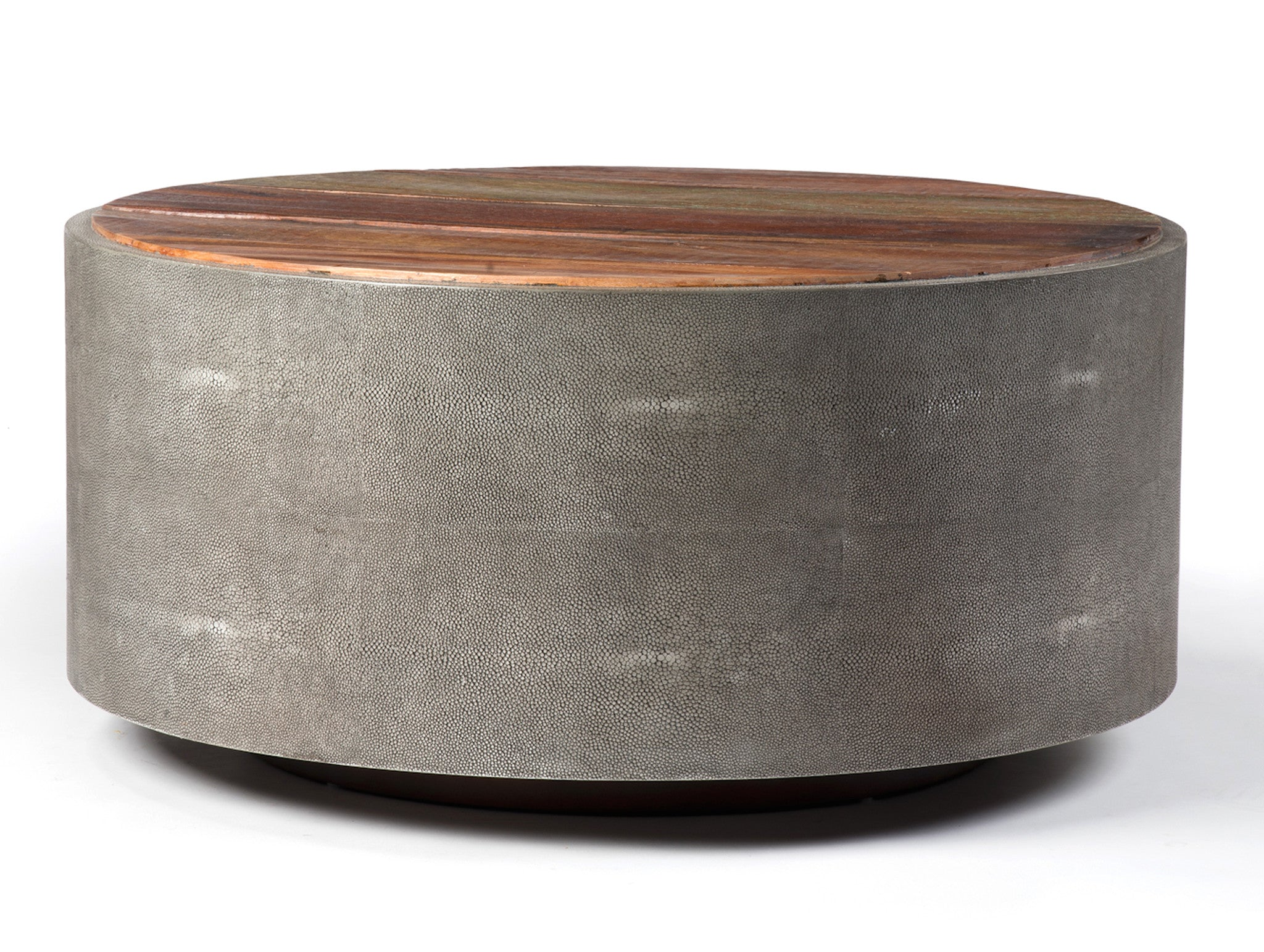 Organic Round Reclaimed Coffee Table Coffee Tables