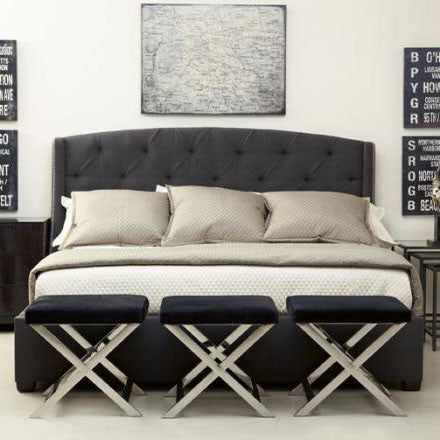 Tufted Wing Bed