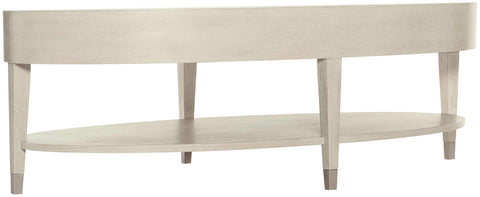Bernhardt East Hampton Oval Cocktail Table