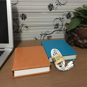LED Five-color Night Light USB Charging Folding Book Light