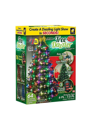 48 LED CHRISTMAS TREE LIGHTS TREE DAZZLER