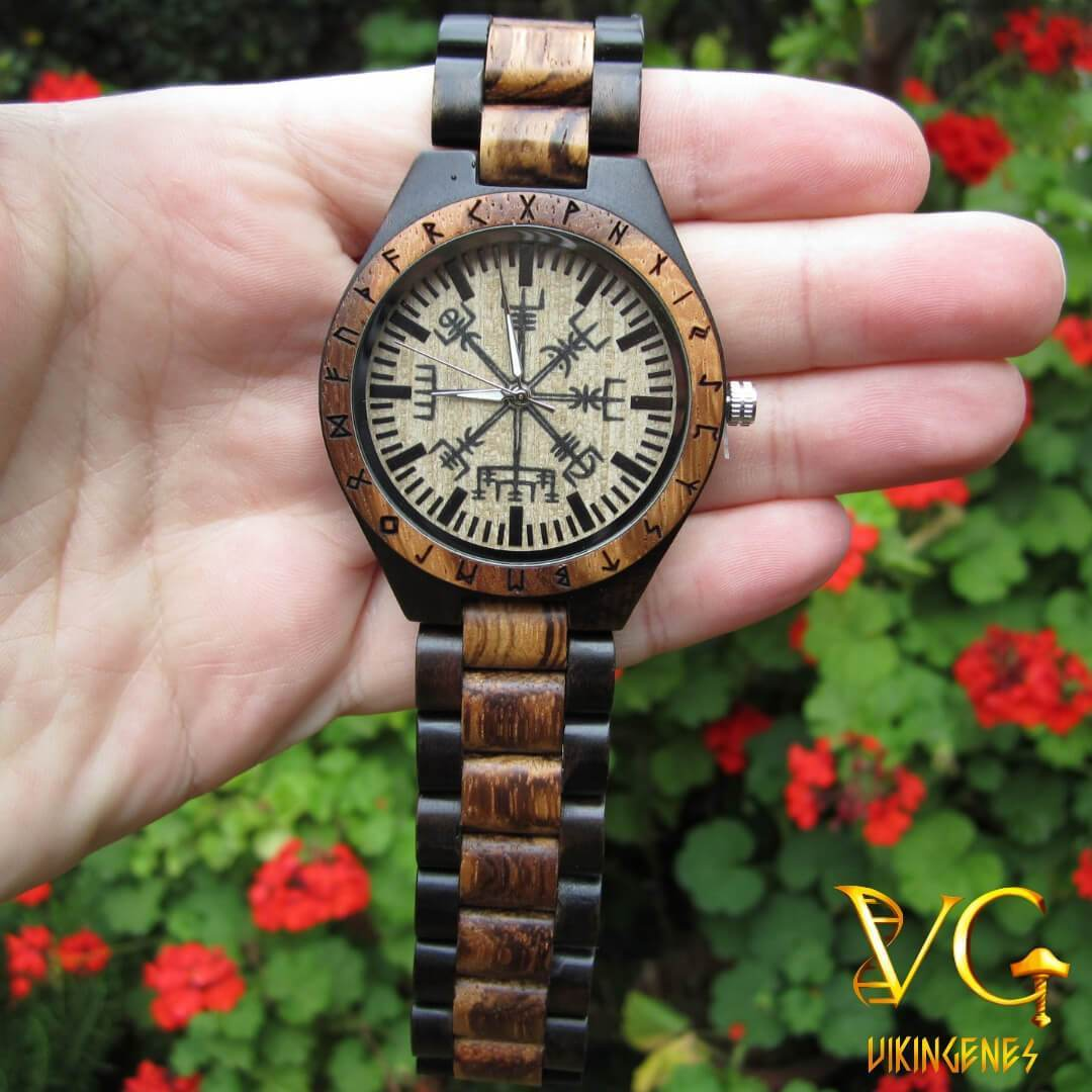 NEW!!! HANDMADE ENGRAVED WOODEN WATCH