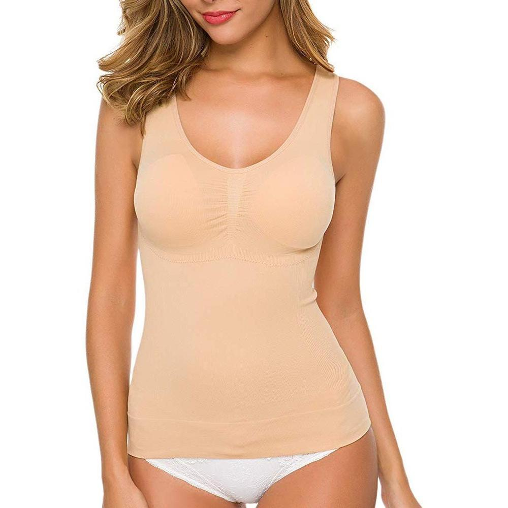 Tank Top Shaper with Removable Pads