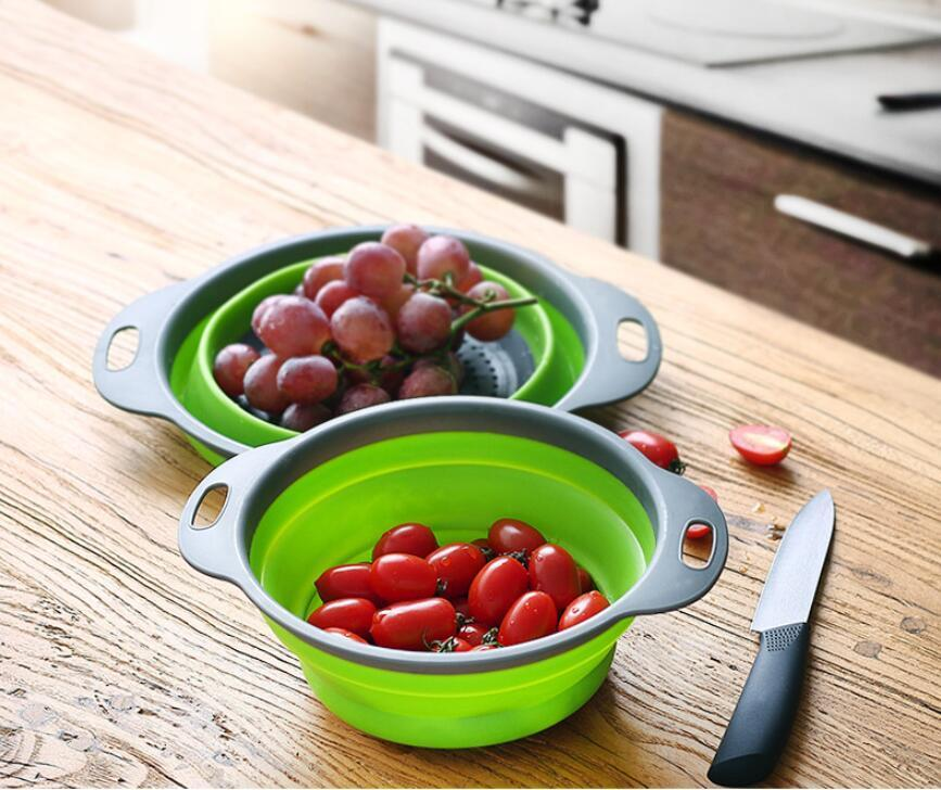 COLLAPSIBLE STRAINER 2PCS SET