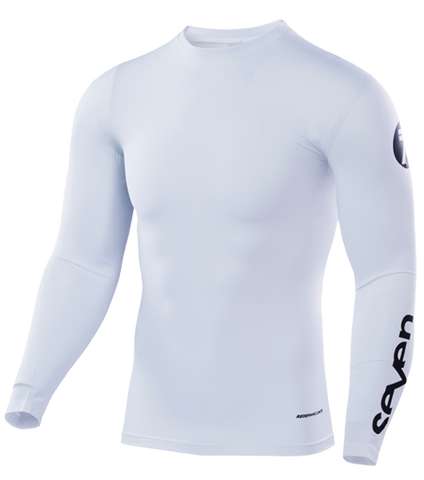 YOUTH// SEVEN JERSEY COMPRESSION ZERO- BLANCO