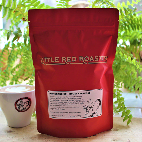 Red Means Go - House Espresso Blend 250g