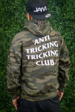 Load image into Gallery viewer, ANTI TRICKING TRICKING CLUB CAMO HOODIE