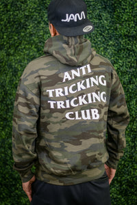 ANTI TRICKING TRICKING CLUB CAMO HOODIE