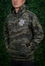 Load image into Gallery viewer, ANTI PARKOUR PARKOUR CLUB CAMO HOODIE