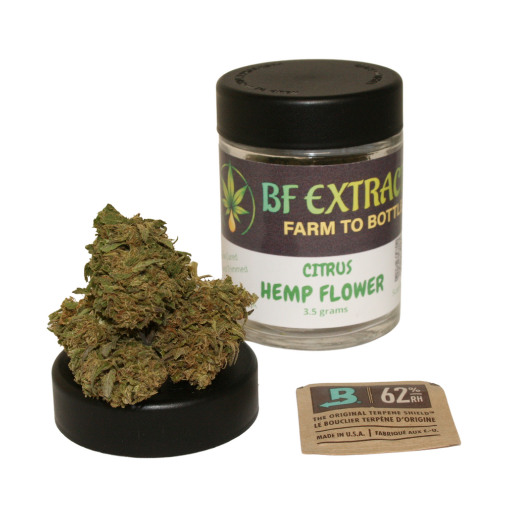 cbd hemp flower citrus