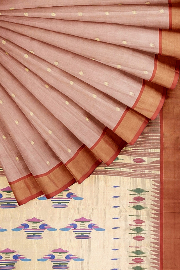 Cotton Paithani Saree