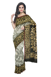 Black Organza Saree