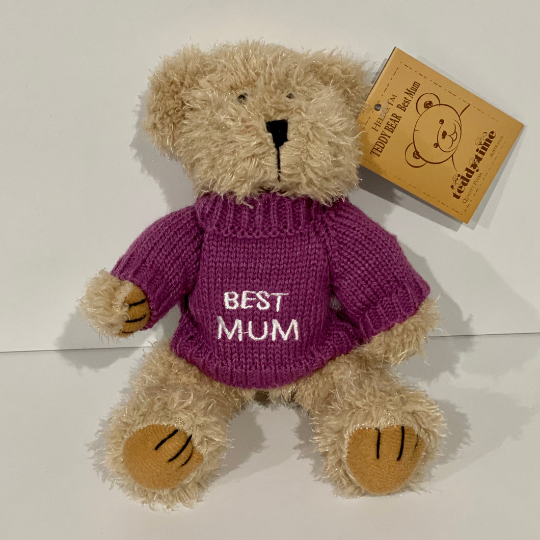 Best Mum Teddy Bear
