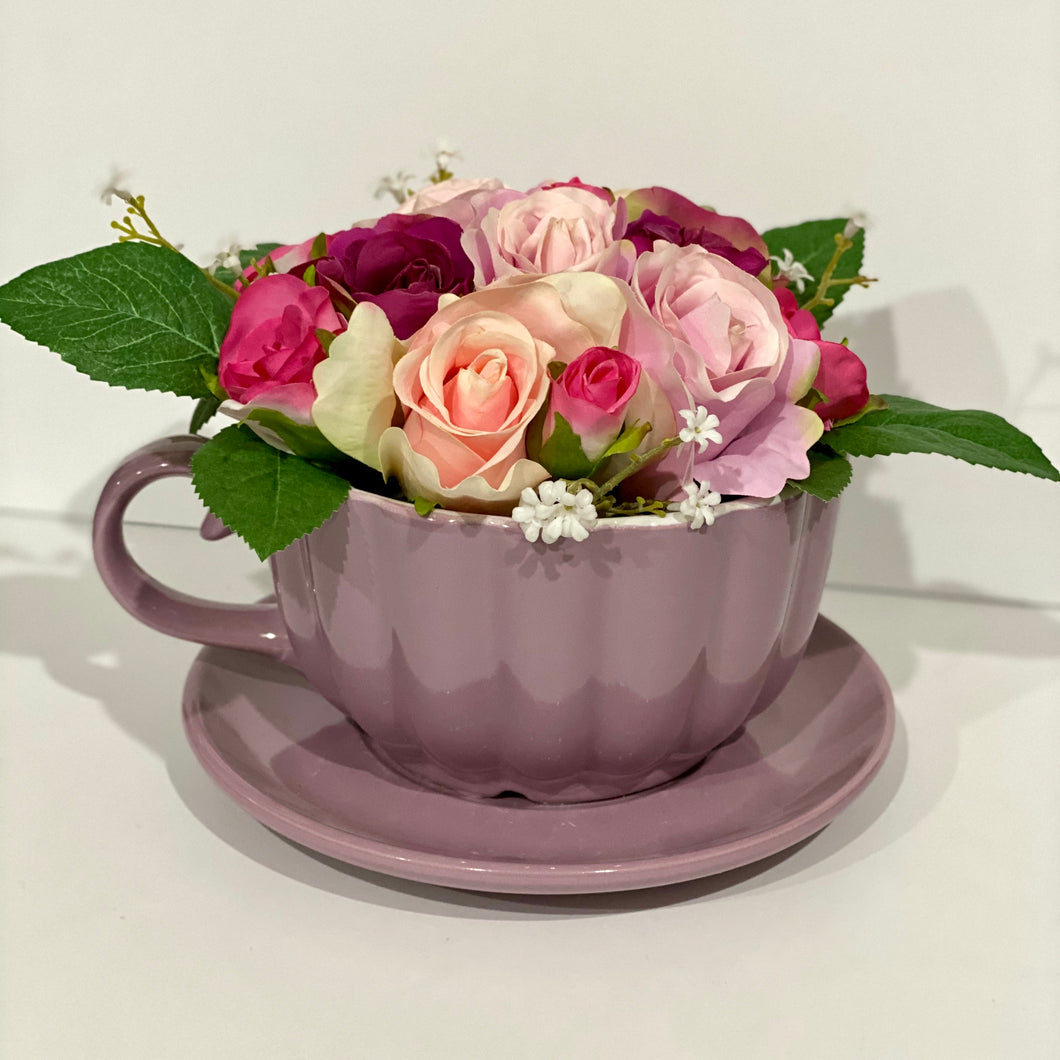 Floral Tea Cup - Regular (Assorted)