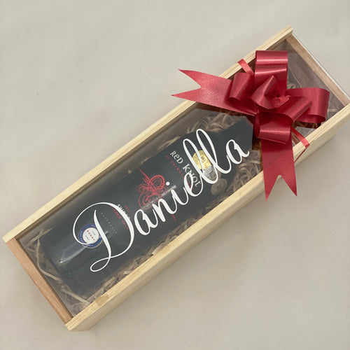 Personalised Wine Gift Box