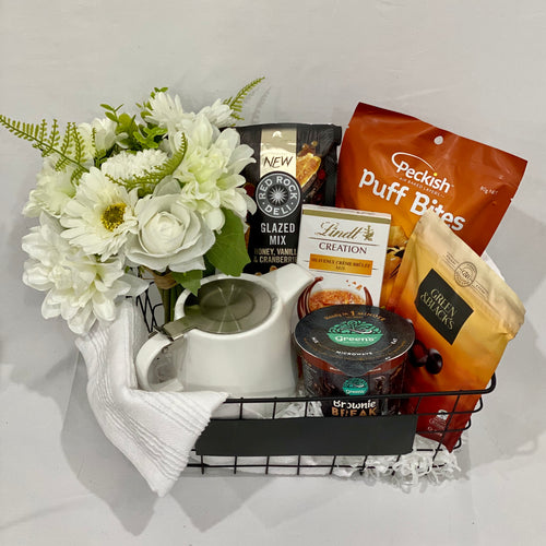 Tea and Snack Basket