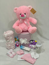 Load image into Gallery viewer, Baby Girl Hamper - Large