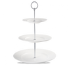 "Alchemy-Three Tier Plate Tower - 11"", 8"", 6"" H13"""