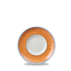 Tea Cup Saucer - New Horizons Orange - 15cm