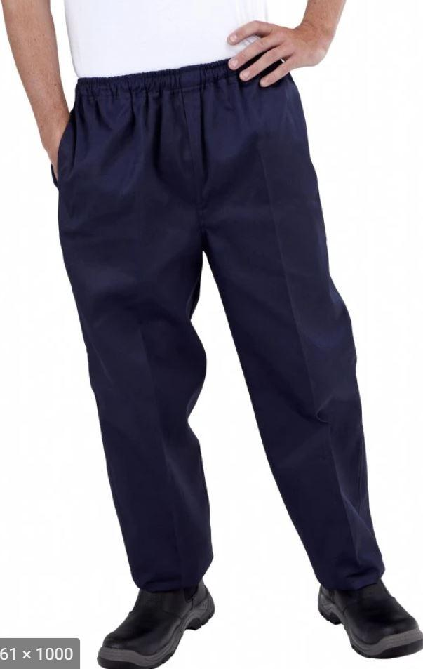 GLOBAL CHEF-NAVY DRAWSTRING PANT - LARGE