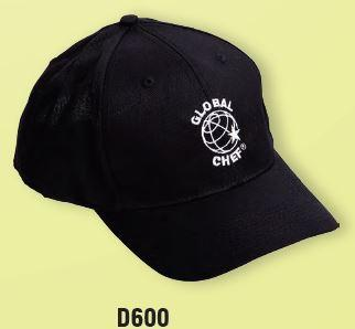 GLOBAL CHEF-BASEBALL CAP - BLACK