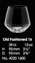 RONA-MARTINA OLD FASHIONED 16 - 39CL - 13OZ [6pcs]