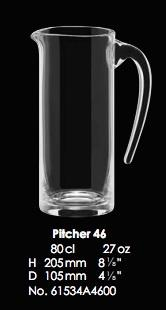 RONA-TOSCANA PITCHER 46 - 80CL - 27OZ [1pce]