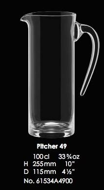 RONA-TOSCANA PITCHER 49 - 100CL - 33 3/4OZ [1pce]