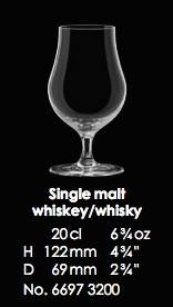 RONA-SINGLE MALT WHISKEY/ WHISKY - 20CL - 6 3/4OZ [6pcs]