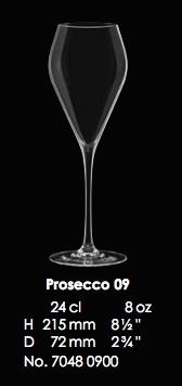 RONA-MODE PROSECCO 09 - 24CL - 8OZ [6pcs]