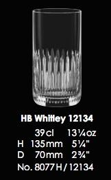 RONA-CUMBERLAND COLLECTION HB WHITLEY 12134 - 39CL - 13 1/4OZ [6pcs]