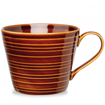 Rustics Brown Snug Mug - 8cmh, 10cmw, 12oz