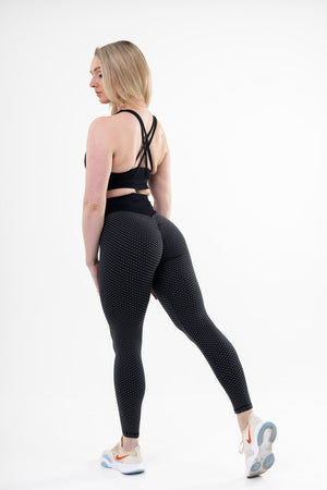 Legging Sport Anti Cellulite<br> Noire