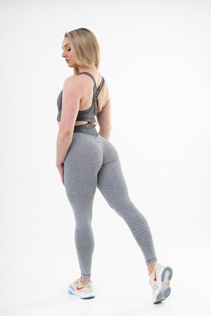 Legging Sport Anti Cellulite <br> Gris