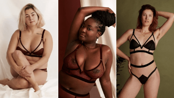 Lingerie brand recruits models without seeing pictures or asking measurements
