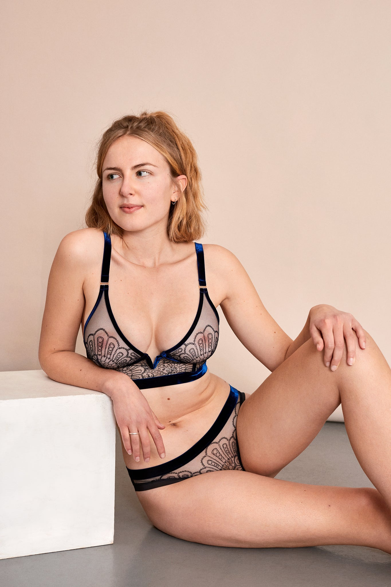 Make it happen - LONGLINE TRIANGLE BRA