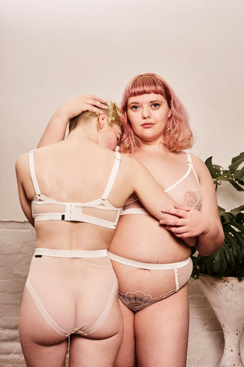 Love doesn't need approval - LONGLINE TRIANGLE - Longline Triangle Bra - theunderargument.com