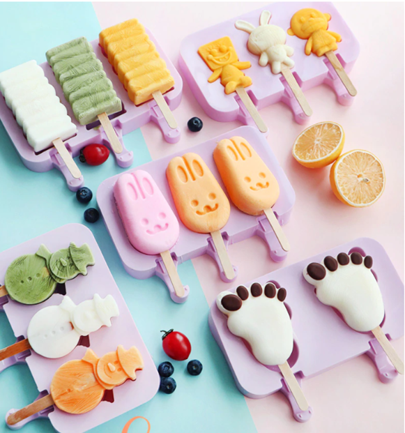 Cartoon Icy Popsicle Mold