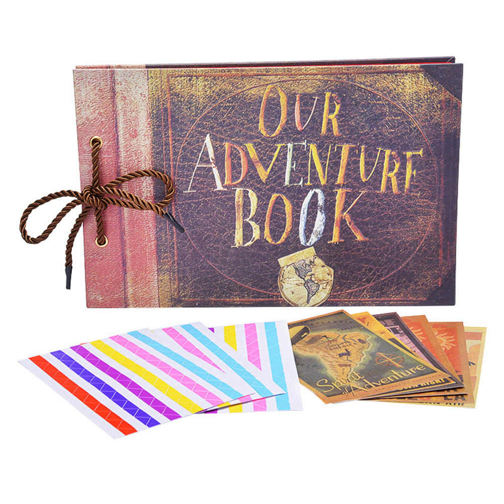 Rustic DIY Adventure Book