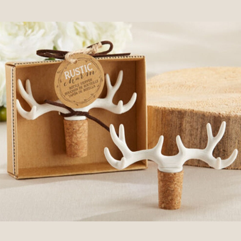 Antler Deer Wine Stopper