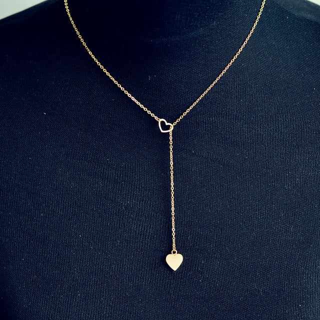 Charming Linked Hearts Necklace