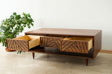 Load image into Gallery viewer, SLW Coffee Table - modern walnut coffee table