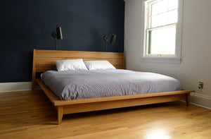 Josef Bed | solid wood platform bed