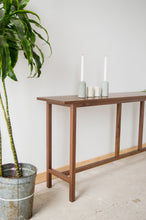 Load image into Gallery viewer, Minimalist Sofa Table | solid wood entry hallway table